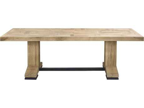 Moe's Home Collection Patchwork 94.5'' x 35.5'' Rectangular Solid Oak Dining Table