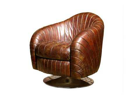 Moe's Home Collection Geneva Brown Club Chair