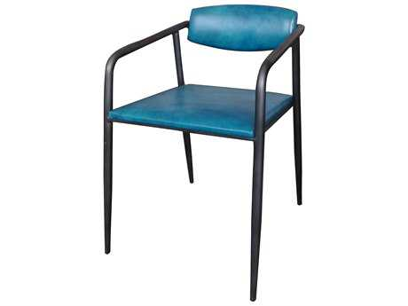 Moe's Home Collection Vance Blue Dining Chair (Set of 2)
