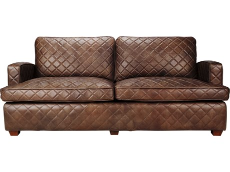 Moe's Home Collection Leopold Brown Leather