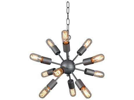 Moe's Home Collection Aurora Small 0-Light 15'' Wide Brown Pendant Light