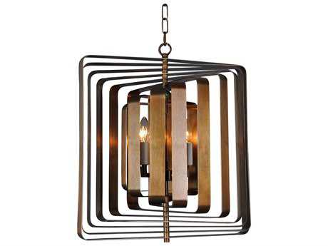 Moe's Home Collection Nightsbridge Four-Light 20'' Wide Bronze Chandelier