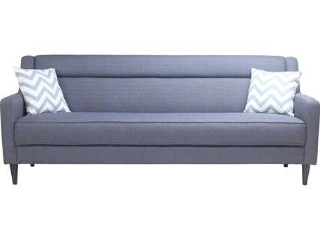 Moe's Home Collection Benedetto Dark Grey Sofa