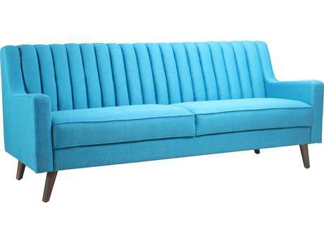Moe's Home Collection Camilla Blue Sofa