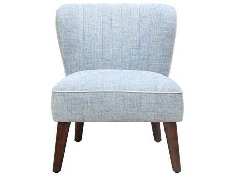 Moe's Home Collection Holden City Blue Accent Chair