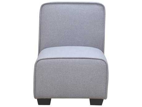 Moe's Home Collection Marino Grey Accent Chair