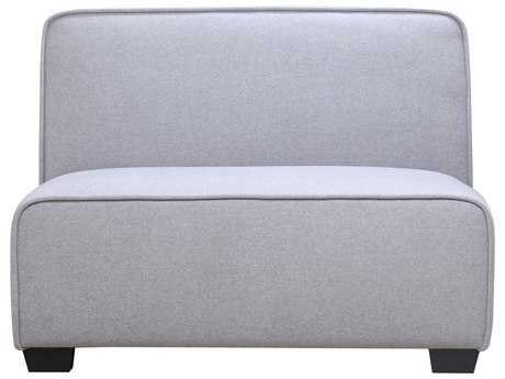 Moe's Home Collection Marino Gunmetal Loveseat