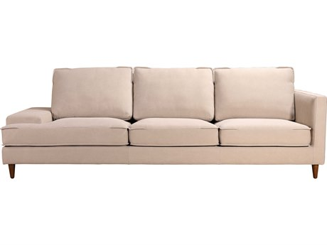 Moe's Home Collection Hughes Cream Sofa