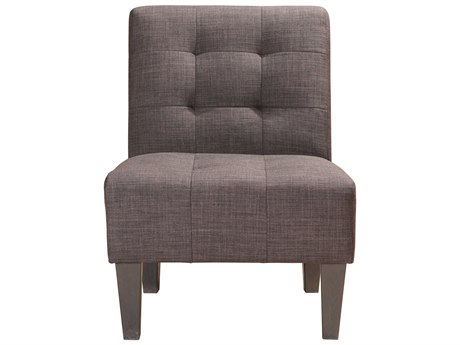 Moe's Home Collection Sheldon Charcoal Accent Chair