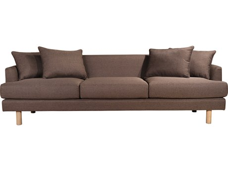 Moe's Home Collection Markella Brown Sofa