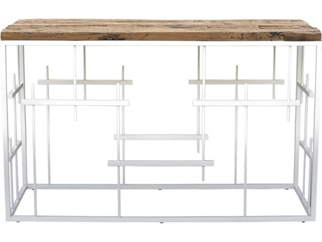 Moe's Home Collection Holter White 51'' x 15.7'' Rectangular Console Table