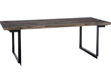 Moe's Home Collection Tiburon 68'' x 36'' Rectangular Small Natural Dining Table