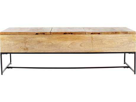 Moe's Home Collection Colvin 54'' x 24'' Rectangular Natural Coffee Table