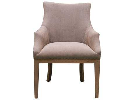 Moe's Home Collection Fabrice Grey Accent Chair