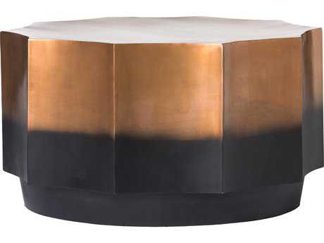 Moe's Home Collection Markus 30'' x 30'' Octagon Bronze Coffee Table
