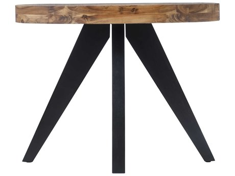 Moe's Home Collection Parq Cappuccino 48'' x 18'' Oval Console Table