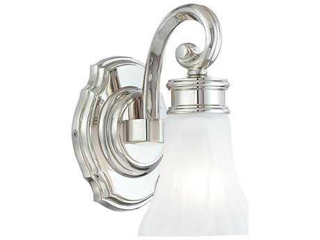 Metropolitan Lighting Polished Nickel Vanity Light