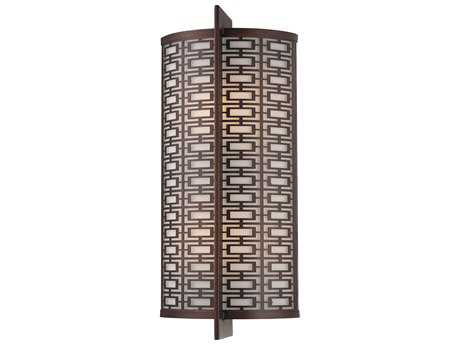 Metropolitan Lighting Janus Cimarron Bronze Two-Lights Vanity Light