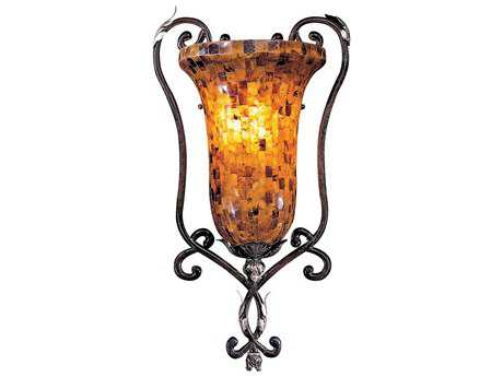 Metropolitan Lighting Salamanca Cattera Bronze Wall Sconce