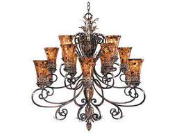 Metropolitan Lighting Salamanca Cattera Bronze 15-Lights 48'' Wide Grand Chandelier