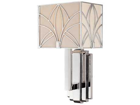 Metropolitan Lighting Storyboard Chrome Wall Sconce