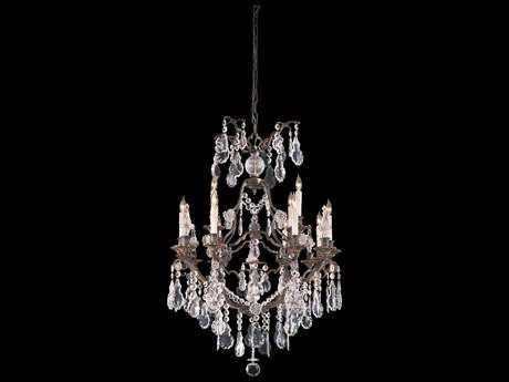 Metropolitan Lighting Vintage Oxidized Brass 12-Lights 32'' Wide Grand Chandelier