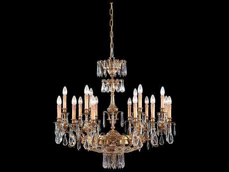 Metropolitan Lighting French Gold 18-Lights 37.5'' Wide Grand Chandelier