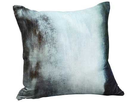 Moe's Home Collection Murky Water Velvet Cushion with Feather Insert