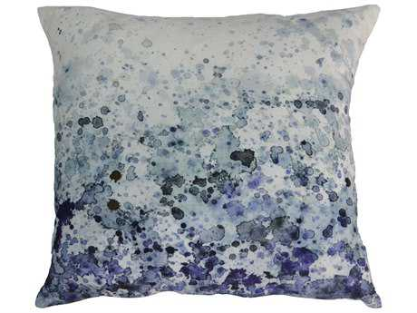 Moe's Home Collection Sea Spray Velvet Cushion with Feather Insert