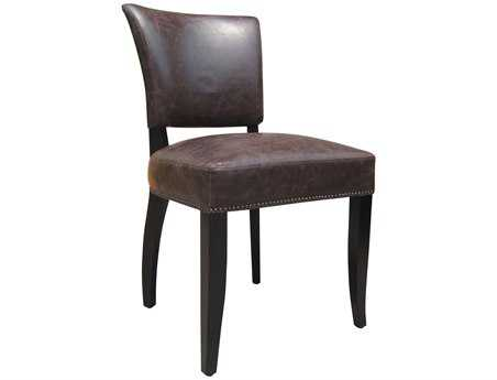 Moe's Home Collection Cannes Brown Dining Side Chair (Sold in 2)