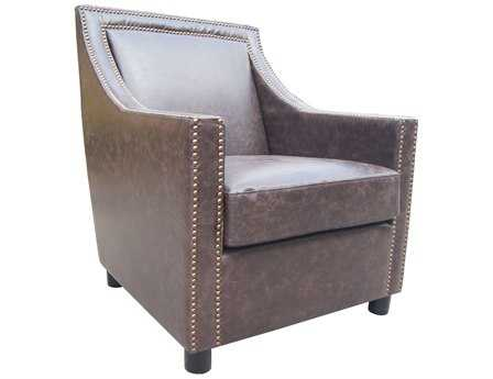 Moe's Home Collection Stratford Dark Brown Club Chair