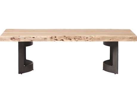 Moe's Home Collection Bent 56'' x 28'' Rectangular Natural Coffee Table