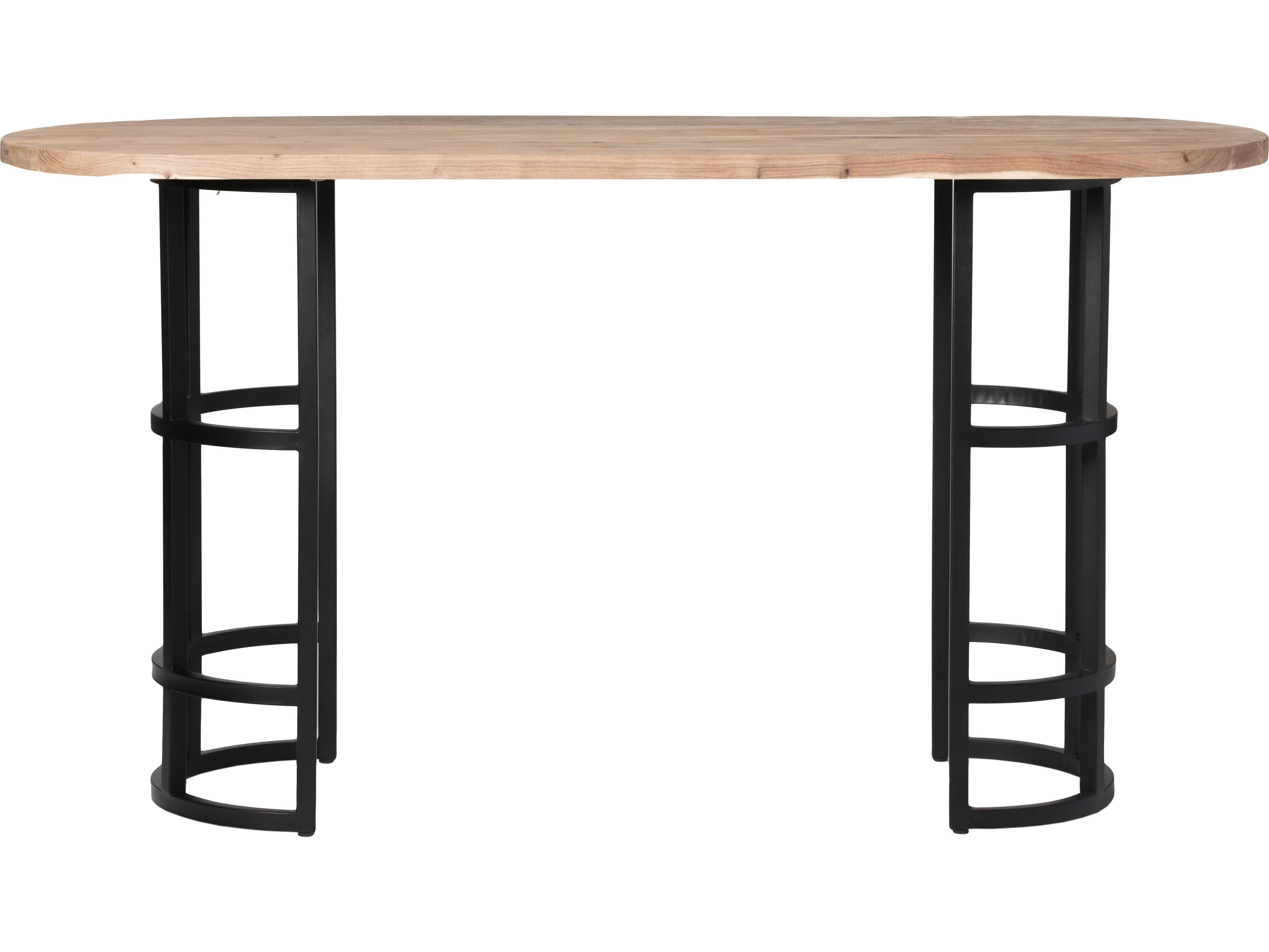 Dining Table Light Height: Moe's Home Collection Race 78'' X 28'' Oval Light Brown