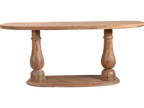Moe's Home Collection Milo 71'' Round Smoked Console Table