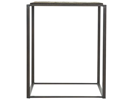 Moe's Home Collection Alonso Brown 20'' Square Side Table