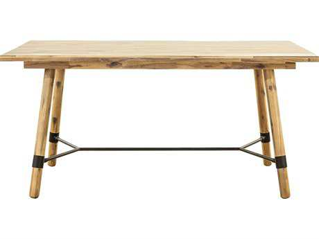 Moe's Home Collection Hudson 63'' x 35.5'' Small Natural Rectangular Dining Table