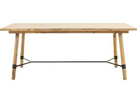 Moe's Home Collection Hudson 76'' x 38'' Large Natural Rectangular Dining Table
