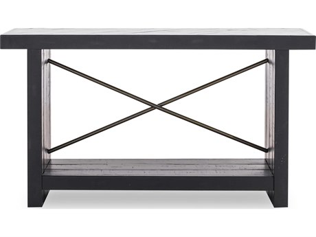 Moe's Home Collection Sicily Black 54'' x 16'' Rectangular Console Table