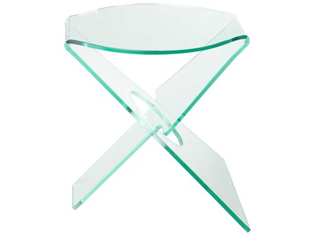 Moe's Home Collection Crystal Clear 20'' Side Table