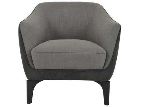 Moe's Home Collection Trento Dark grey Accent Chair
