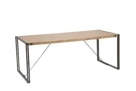 Moe's Home Collection Brooklyn 79 x 35 Rectangular Brown Dining Table