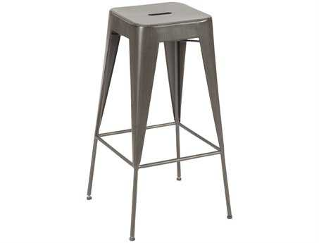 Moe's Home Collection Brooklyn Dark Brown Bar Stool (Set of 2)
