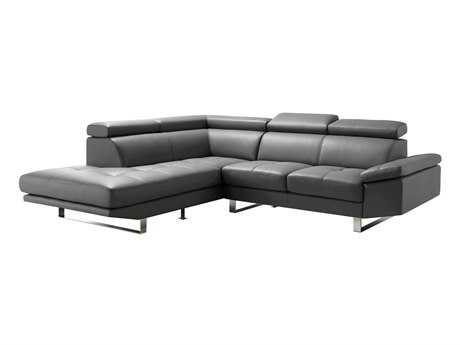 Moe's Home Collection Andreas Light Gray Left Sectional