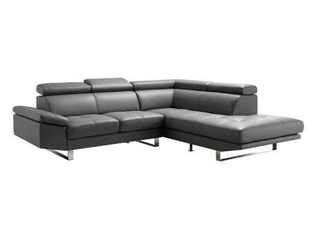 Moe's Home Collection Andreas Light Gray Right Sectional