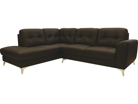 Moe's Home Collection Cedric Chocolate Left Sectional