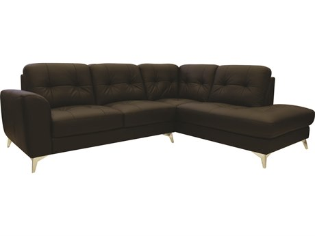 Moe's Home Collection Cedric Chocolate Right Sectional