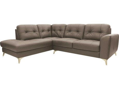 Moe's Home Collection Cedric Light Grey Left Sectional