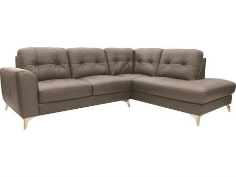 Moe's Home Collection Cedric Light Grey Right Sectional