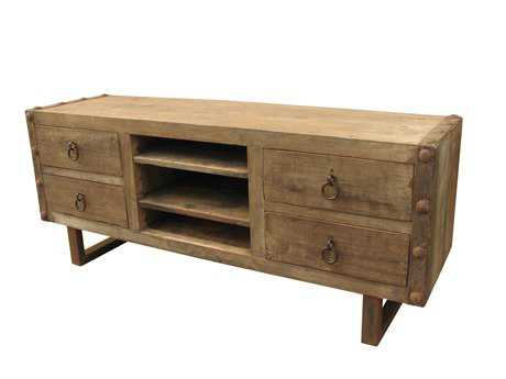Moe's Home Collection Agio 69'' x 20'' Natural Entertainment Unit