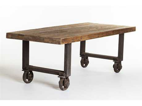 Moe's Home Collection Fiumicino 85 x 38 Rectangular Natural Dining Table